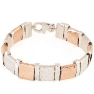 Classic Silver Gold Bracelet