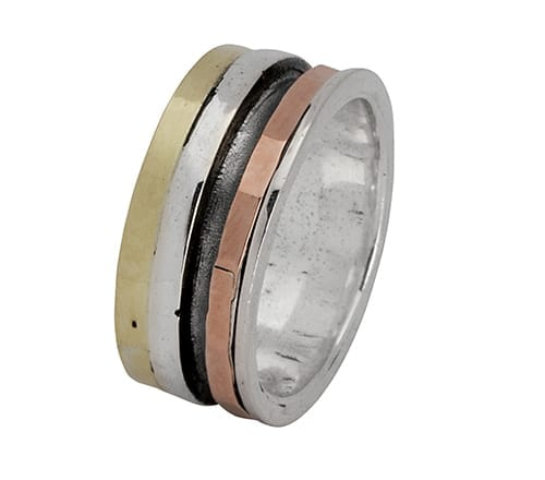 Four Tone Spinning Ring