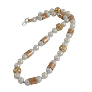 Demi-Fine Pearl Choker Necklace