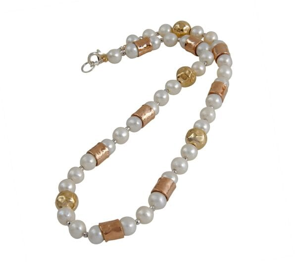 Demi-Fine Pearl Choker Necklace