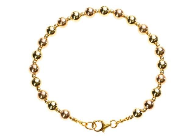 Gold Sphere Bracelet