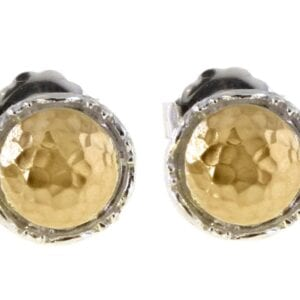 Sterling Silver Gold Studs