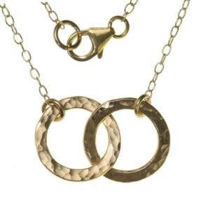 Fine Disc Layered Necklace