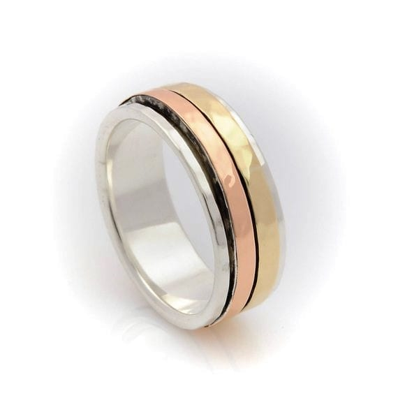 Yellow Gold Spinning Ring