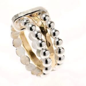 Pure 3 Stack Ring