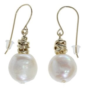 Exquisite pearl Gold earrings