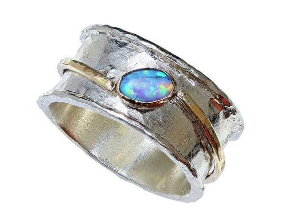 Silver 9k Gold Ring