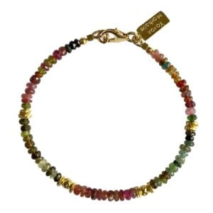 Multicolour Tourmaline Bracelet