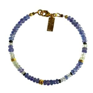 Beautiful Tanzanite Gemstone Bracelet