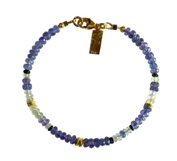 Beautiful Tanzanite Gemstone Bracelet