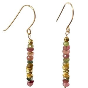 Multicolour Tourmaline Earrings