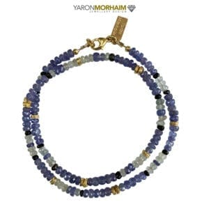 Tanzanite & Black Tourmaline Necklace