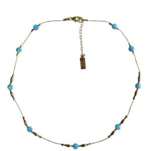 Gorgeous Gold Necklace Opal