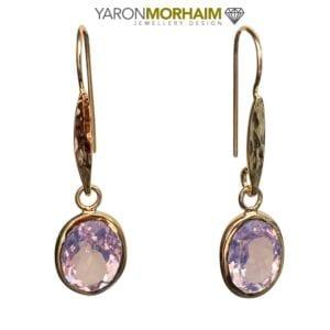 Drop Earrings Lavender Amethyst