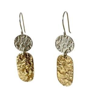 Organic Nature Inspired Earrings