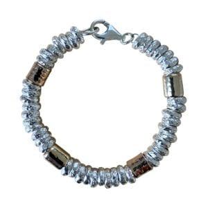 Three Tone Handmade Bracelet