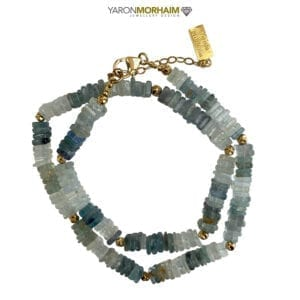 Blue Apatite Aquamarine necklace