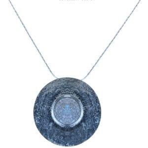 Druzy Iridescent Gemstone Necklace