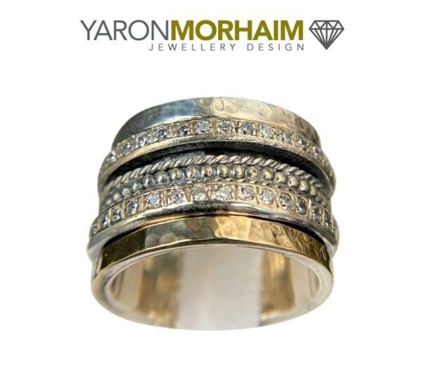 Gemstone Spinning Ring