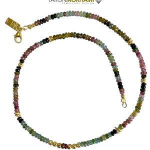 Multi Colour Tourmaline necklace