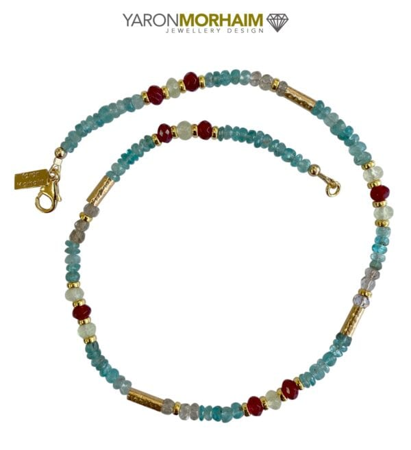 Cool Colourful Gemstone Necklace