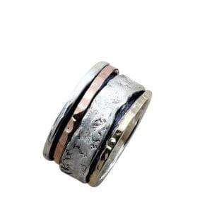 Rustic Spinning Ring