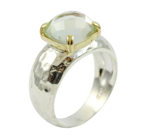 Ring Green Amethyst