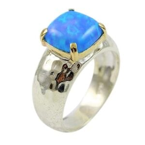 Solitaire Opal Cocktail Ring