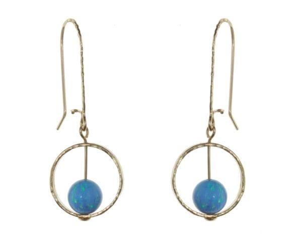 Opal Earrings Icon Nova