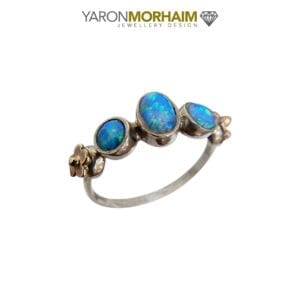 Opal Cocktail Gold Ring