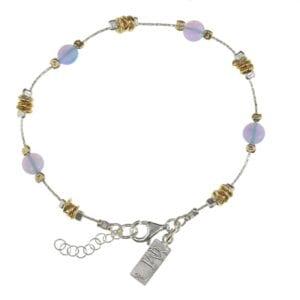 Contemporary Opal Bracelet