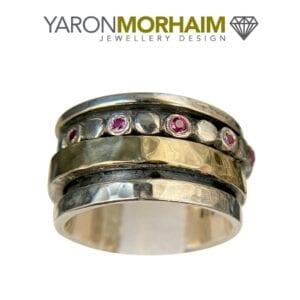 Ruby Spinning Ring