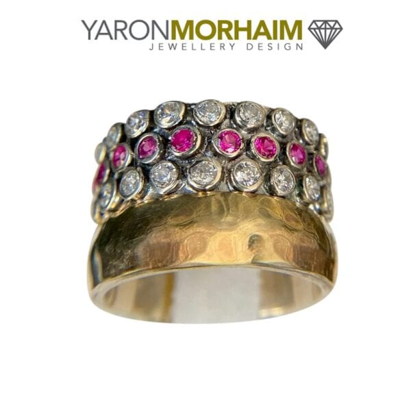 Ruby Cubic Zirconia Ring