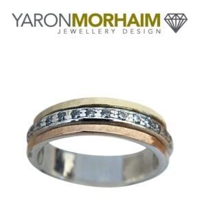 Exquisite Gold fusion Ring.