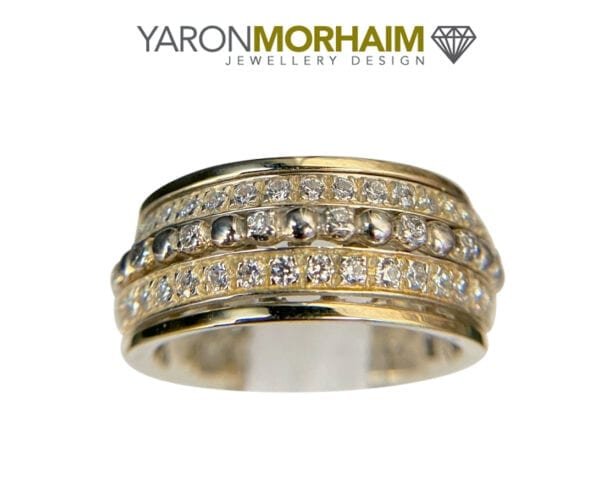 Cubic Zirconia Wide Band