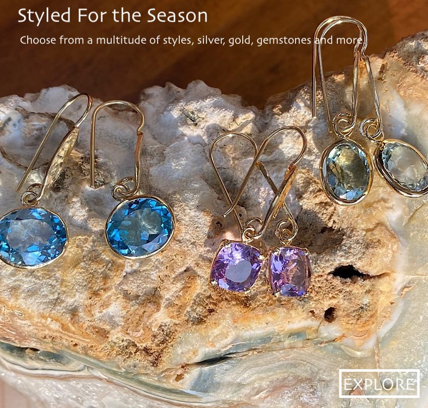 earrings Gemstones