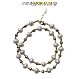 Exquisite White Pearl Necklace