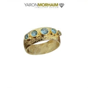 Handmade Blue Topaz Ring