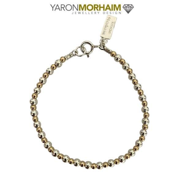 Luxury Sphere Silver & Gold Bracelet