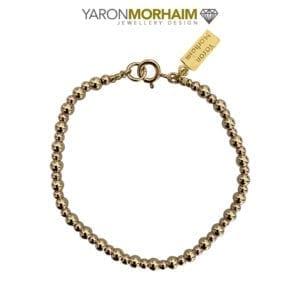 Sphere Rose & Yellow Gold Bracelet