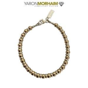 Sphere Silver & Gold Bracelet