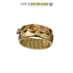 Gold Vermeil Tourmaline Ring