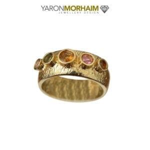 Gold Vermeil Tourmaline Ring